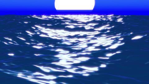 sea midnight 01 Animation
