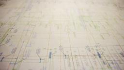 blueprints background Footage