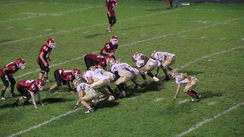 Football Quarterback Fumble Stock Video Footage