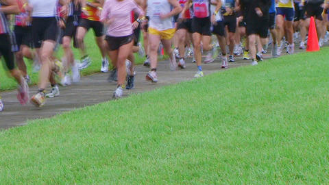 Runners Starting Race Archivo