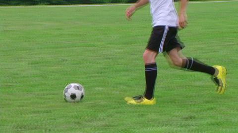 Soccer Player Dribbling 03 스톡 비디오 클립, 영상 소스, 스톡 4K 영상
