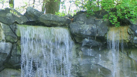 Small Waterfall 03 Stock Video Footage