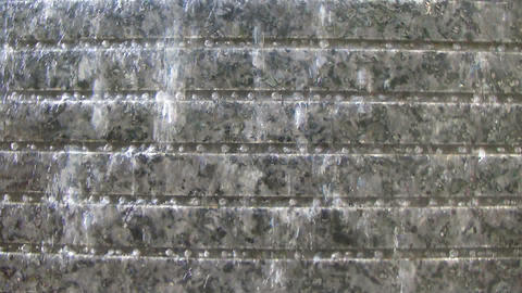 Water Wall With Beads Stock Video Footage