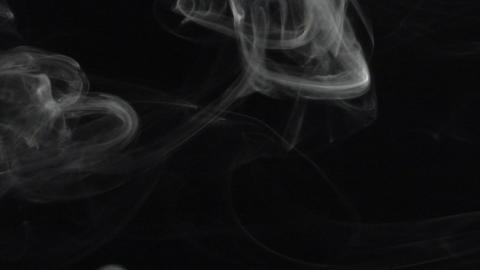 Smoke series: swirl Smoke up Stock Video Footage