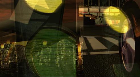Street Cars' race 動画素材, ムービー映像素材