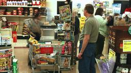 Supermarket timelapse 01 Stock Video Footage