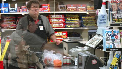 Supermarket timelapse 03 Footage