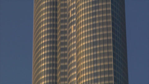Burj Dubai climb up Stock Video Footage