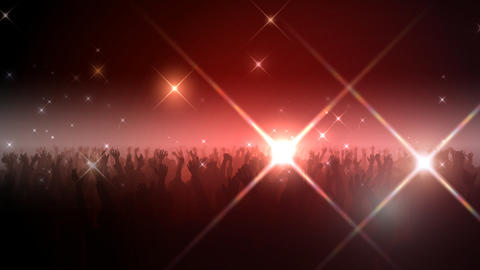 Live Hall Flash LX 3 Stock Video Footage