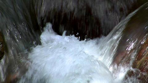 water slow motion loop Stock Video Footage