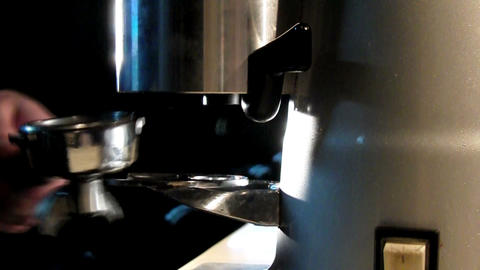 pouring some coffee Stock Video Footage