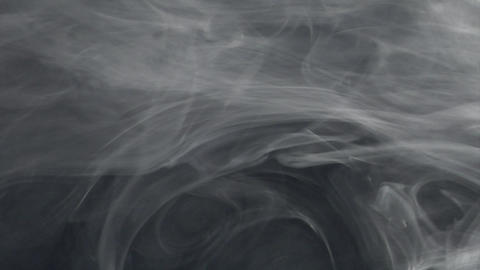 Smoke series: waving alien smoke 2of2 Stock Video Footage