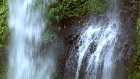 waterfall medium realtime loop Stock Video Footage