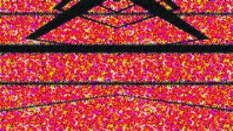 falling squares 動画素材, ムービー映像素材