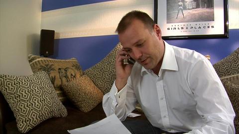 man wrong huge bill crane part 4of4 Stock Video Footage