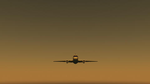 Airplane D aa Stock Video Footage