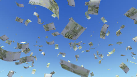 Money Euro L a Stock Video Footage