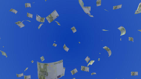 Money Euro L c Stock Video Footage
