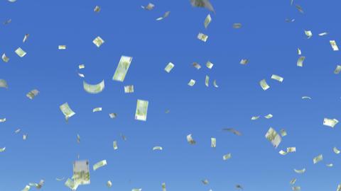 Money Euro S b Stock Video Footage