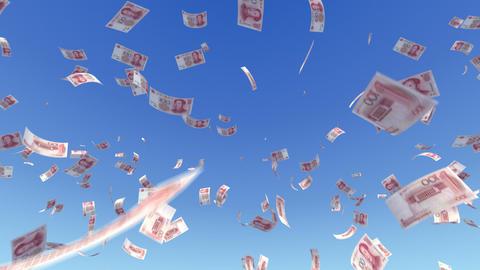 Money RMB L a Animation
