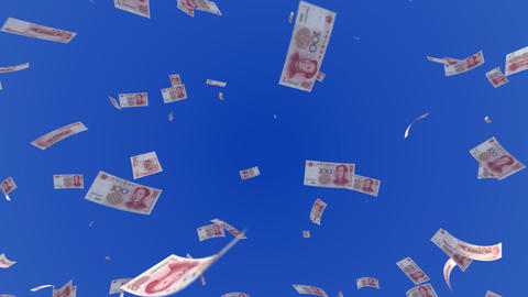 Money RMB L c Stock Video Footage