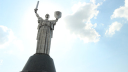 Motherland - monument in Kyiv, Ukraine Footage