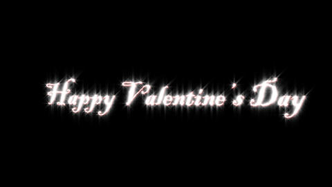 Title of Valentine Animation