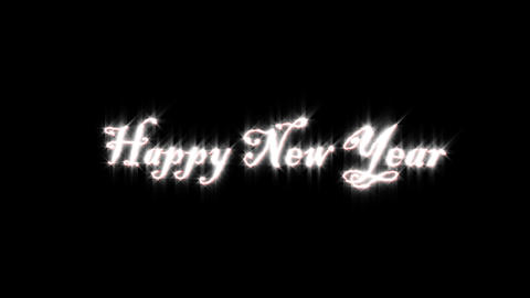 Title of Happy New year Animation