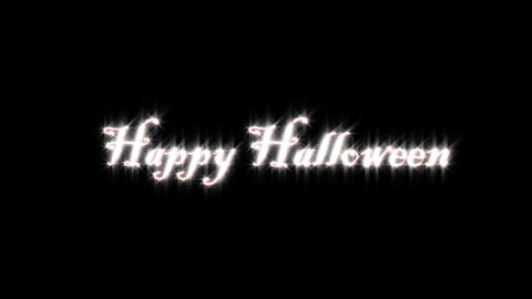 Title of halloween CG動画素材