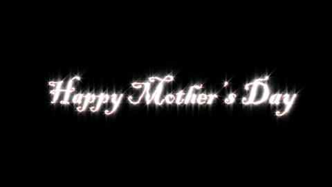 Title of happy mother 's day Animation