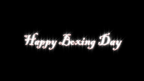 title of boxing day Animation