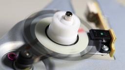 belt drive mechanism with optical sensor Footage