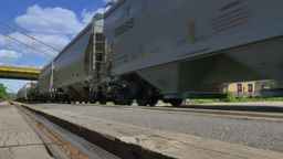 Cargo Train stock footage