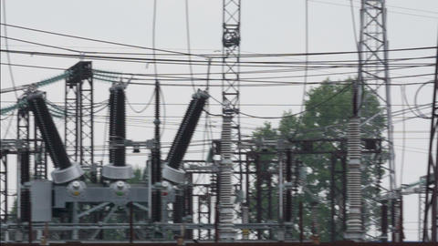 Power Sub Station Footage