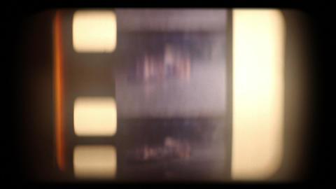 Film Strip Slips stock footage