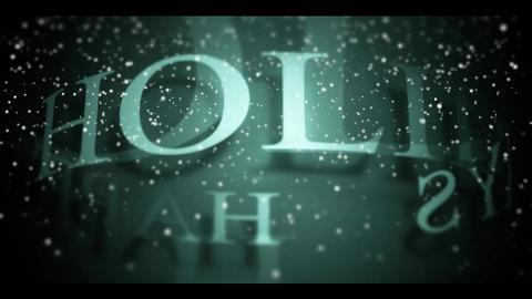 Happy Holidays Animation