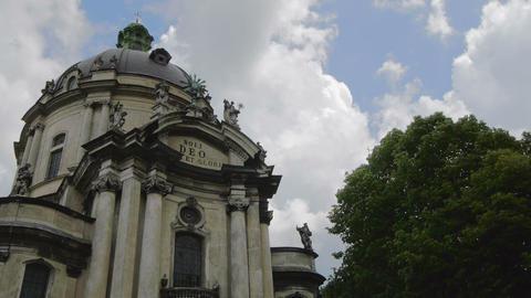 Ukraine, L'viv city .Church Timelapse. May 28, 201 Footage