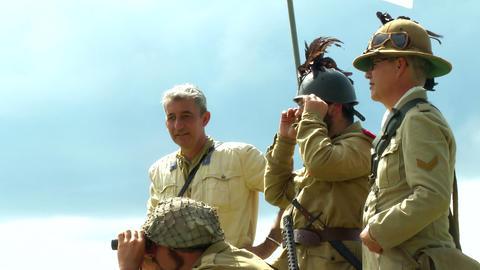 Combat Italian Soldier 01 stock footage