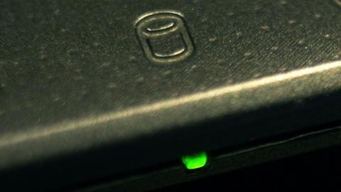 hard drive light 02 macro Live Action