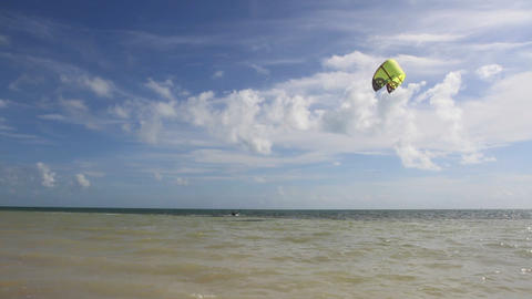 Kite Surfer Footage