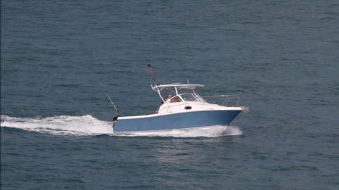 Recreational Boat 1 Footage