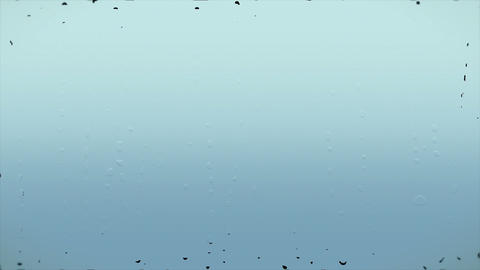 Rain Window Loop Background stock footage