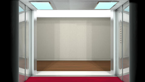 Elevator loop Animation