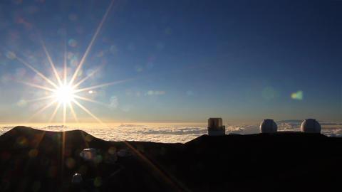Mauna Kea Time Lapse stock footage