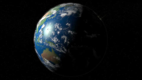 Earth day and night Animation