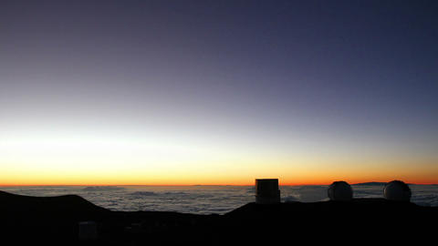 Telescopes and Stars Time Lapse Footage