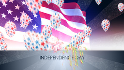 independence day USA Animation