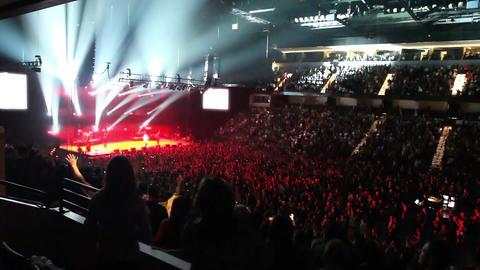 Rock Concert 2 Footage