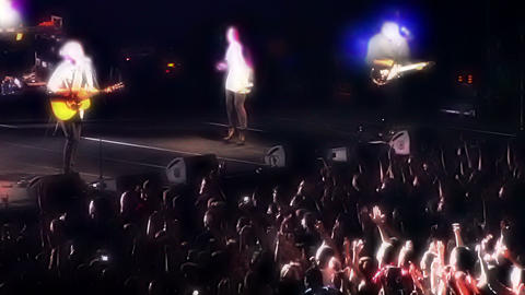 Rock Band in Concert 2 Footage