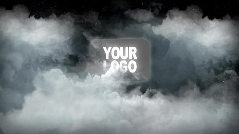 Clouds Logo Reveal After Effects Template